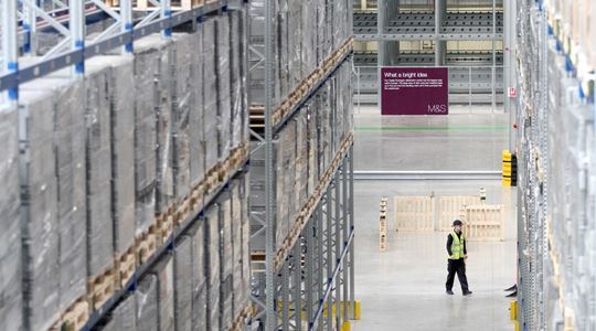 M&S Distribution Centre Design